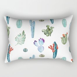 tropical forever Rectangular Pillow