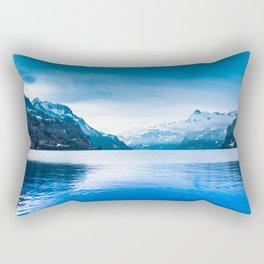 Winter Landscape Rectangular Pillow