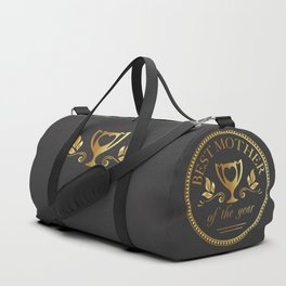 Mother's day golden trophy Duffle Bag