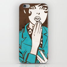 60s Girl iPhone & iPod Skin
