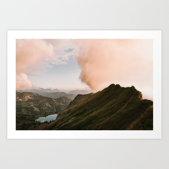 Far Views II - Landscape Photography Art Print