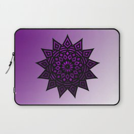 Purple Star | Tam Tam | Mandhala Laptop Sleeve