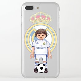 Playmobil Real Madrid Clear iPhone Case