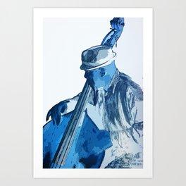 Bassist Art Print