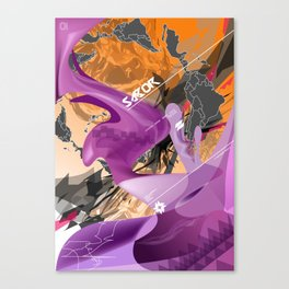 Sabor Latina Canvas Print