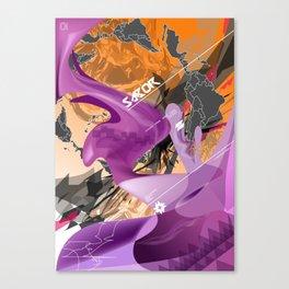 Sabor Latina Canvas Print