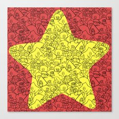Steven's Star Canvas Print