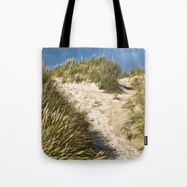 Scandinavian Sand Dune of Henne in Denmark Tote Bag