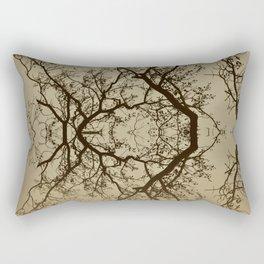 The Rorschach tree 9 version 2 Rectangular Pillow
