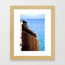 End of the Pier Framed Art Print
