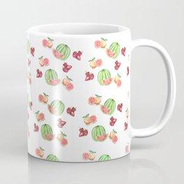 Three Fruit Combo Pattern Coffee Mug