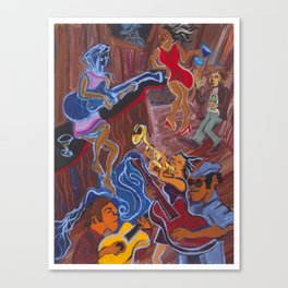 Jazz Shack Canvas Print