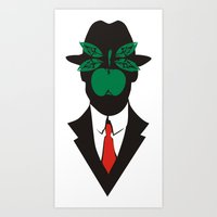 magritte Art Prints featuring René Magritte by Fen_A