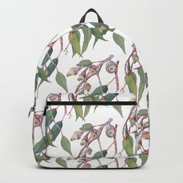 Australian eucalyptus tree branch Backpack