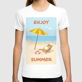 enjoy summer T-shirt