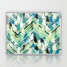 Chevron print with colorful stripes and lines Laptop & iPad Skin
