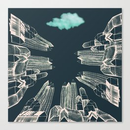 Dark Area Canvas Print