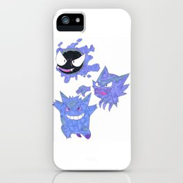 Ghost Evolutions iPhone Case