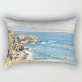 Maui Coast Rectangular Pillow
