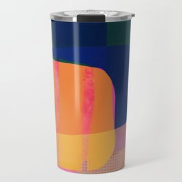 Morning with you abstract Travel Mug