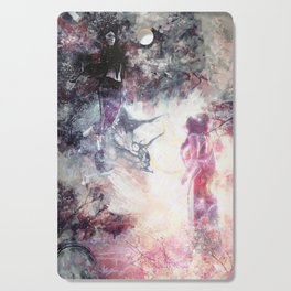 Hades and Persephone: First encounter Cutting Board