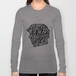 Sherlock on People Long Sleeve T-shirt