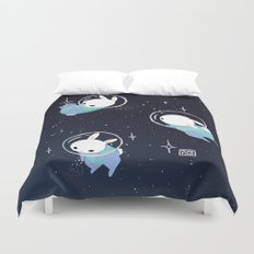 Space Bunnies Duvet Cover