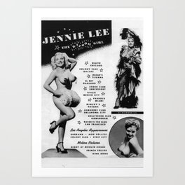 """The Bazoom Girl"" Composite Promo Art Print"