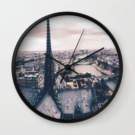 Notre Seine. Wall Clock