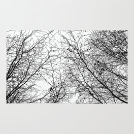 Tree Silhouette Series 2 Rug