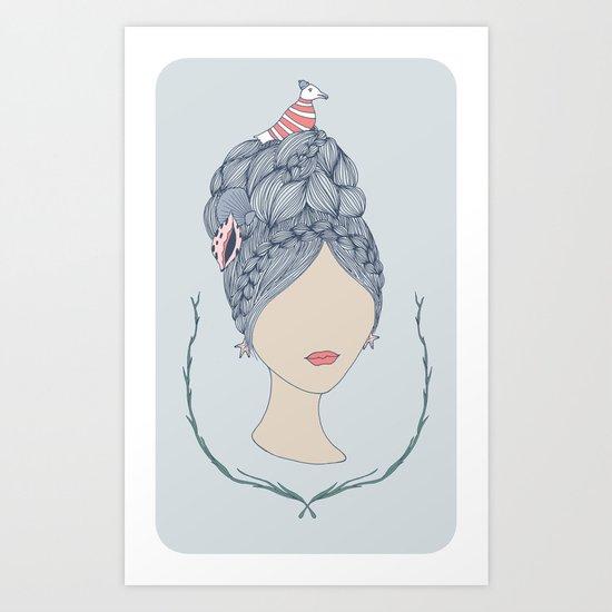 Sea Child Art Print