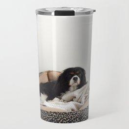 Sleepy Cavalier Travel Mug
