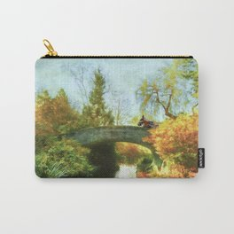 Horses on Bridge Carry-All Pouch