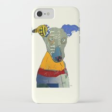kacy (greyhound  iPhone 7 Slim Case