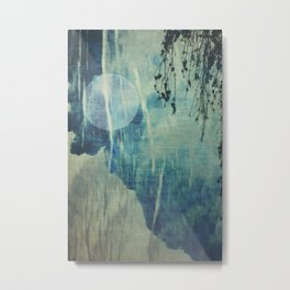 dreaming under the birch Metal Print