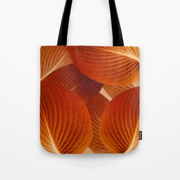 Leaves in Terracotta Color #decor #society6 #buyart Tote Bag