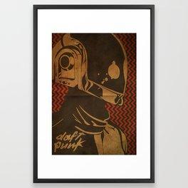 Daft Punk Guy-Manuel II Framed Art Print