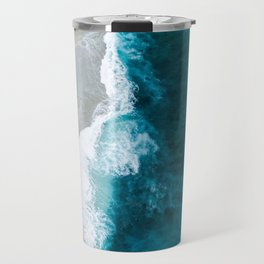 Ocean Divide Turquoise Sea Travel Mug