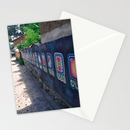 Guatemala - Nahual Street Art Stationery Cards