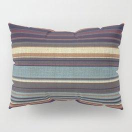 """""""Blue lines burlap"""" Pillow Sham"""