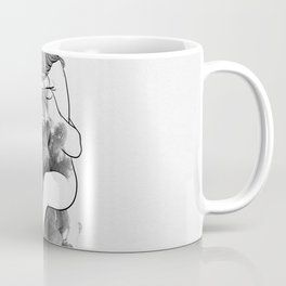 I find peace in your hug. Coffee Mug