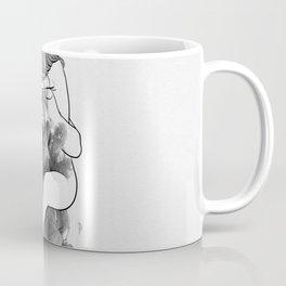 I find peace in your hug. Coffee Mug