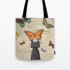 The butterflirst Tote Bag