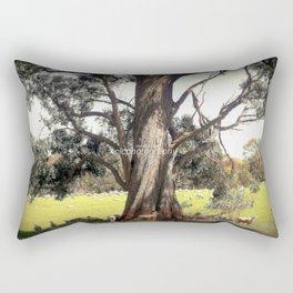 Under the shade of a Coolabah Tree Rectangular Pillow