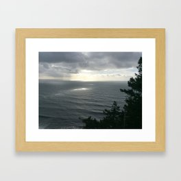 North of Cannon Beach, OR Framed Art Print