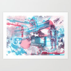 SPACE :::  Art Print