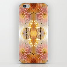 Dahlias and Orchids flowers in reflect iPhone & iPod Skin