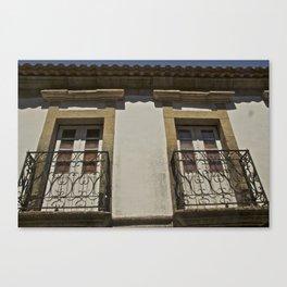 Monsanto balconies Canvas Print
