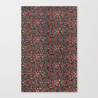 wallpaper Canvas Prints featuring Wallpaper by Cyrille Savelieff