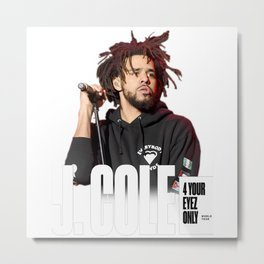 J. Cole 4 Your Eyez Only Metal Print